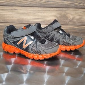 New Balance 750 V2 Gray and Orange Toddler Shoes